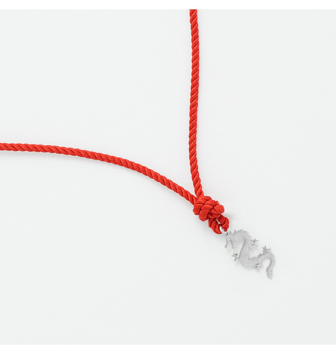 EJDERHA kırmızı ip kolye